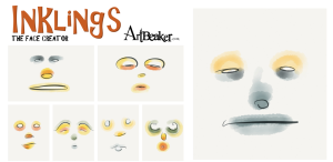 Inklings - Interactive face generator art app
